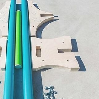 Продаем наборы для катания на скейте от FK-ramps