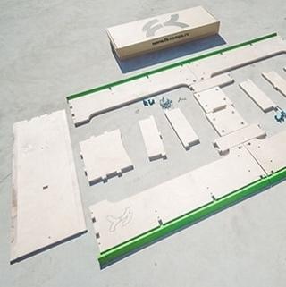 Качественные наборы для трюков на скейте от FK-ramps