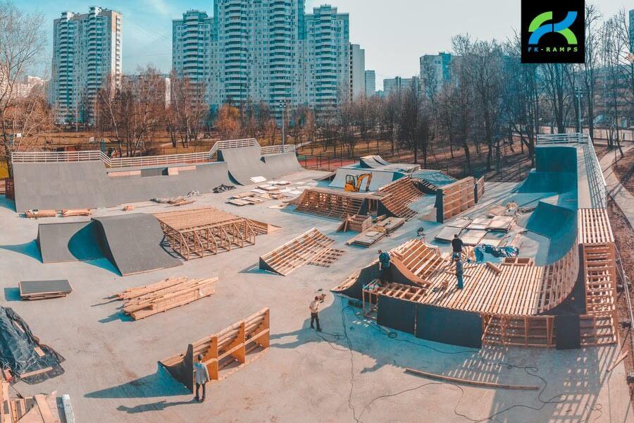 Производство скейт парков - FK-ramps