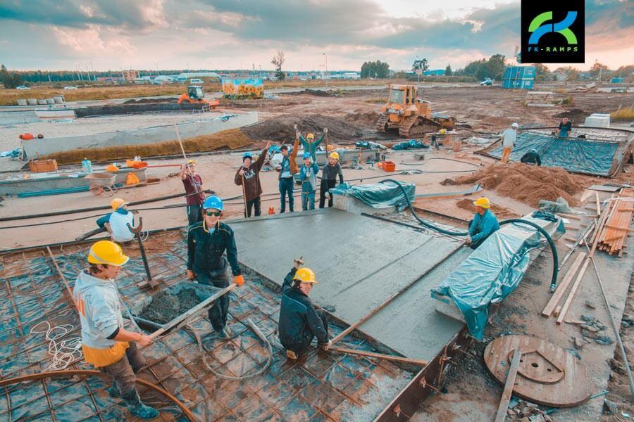 Строительный консалтинг проектов скейт парков - FK-ramps