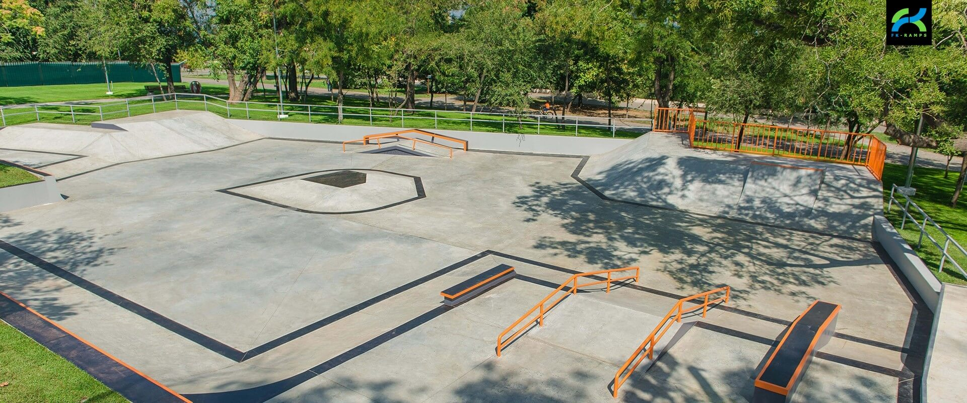 Бетонный скейт-парк FK-ramps в одессе