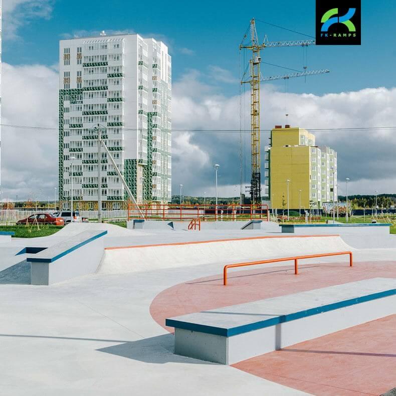 Реализованные проекты скейт парков для архитекторов - FK-ramps