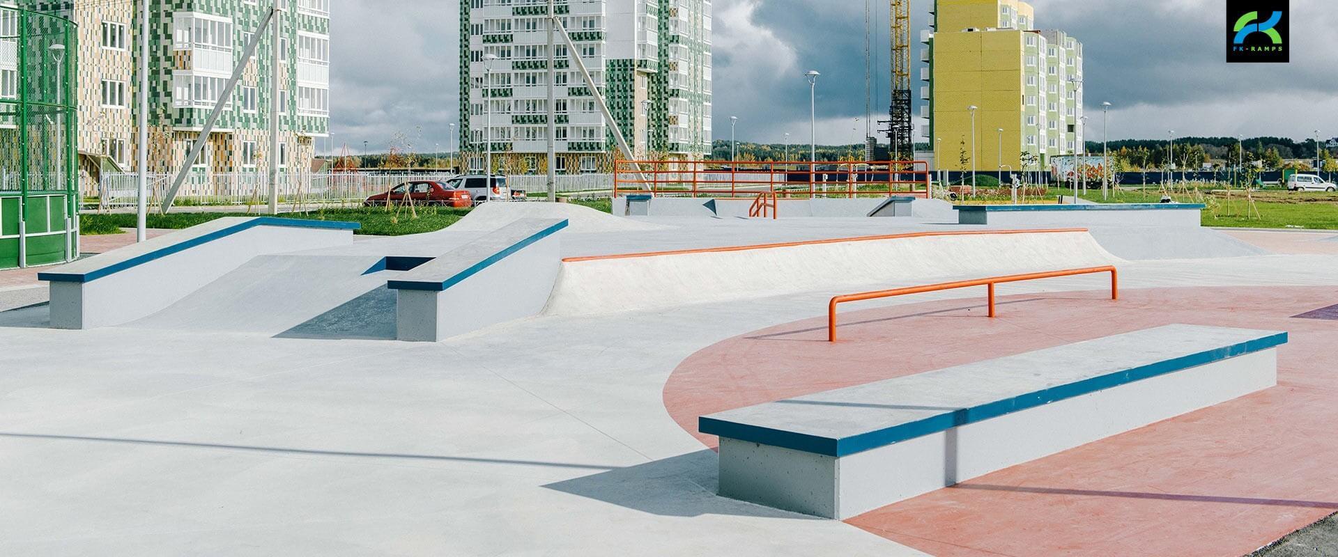 Скейт парки для архитектурных компаний - FK-ramps