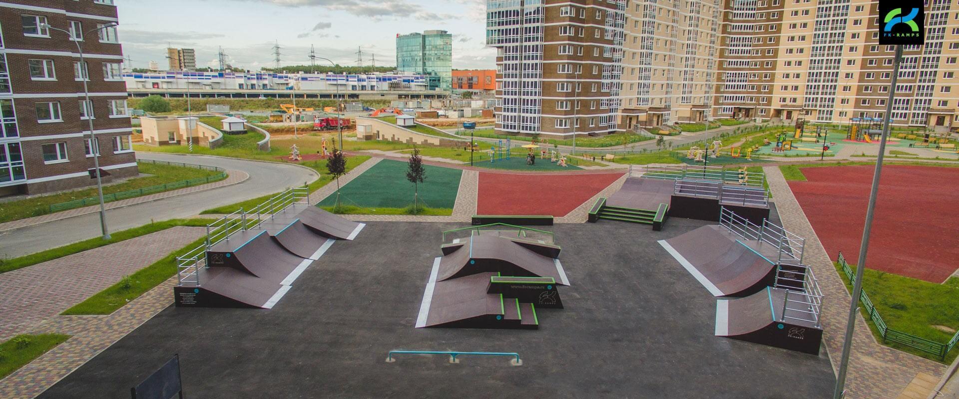 Скейт парки для архитекторов - FK-ramps
