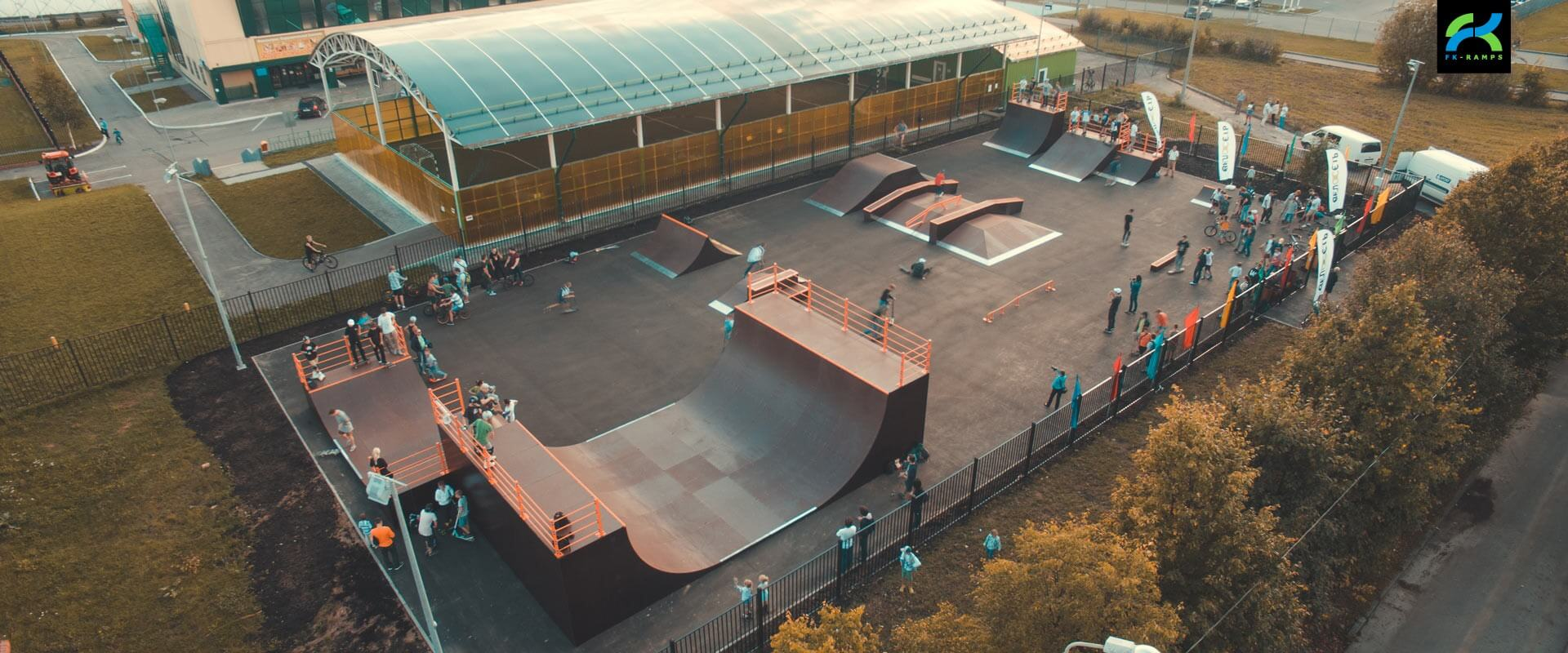 Скейт парки для архитекторных организаций - FK-ramps