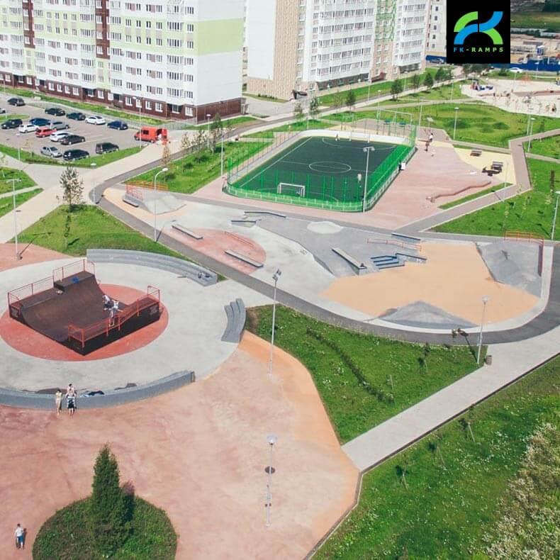 Скейт парки для архитектурных бюро - FK-ramps