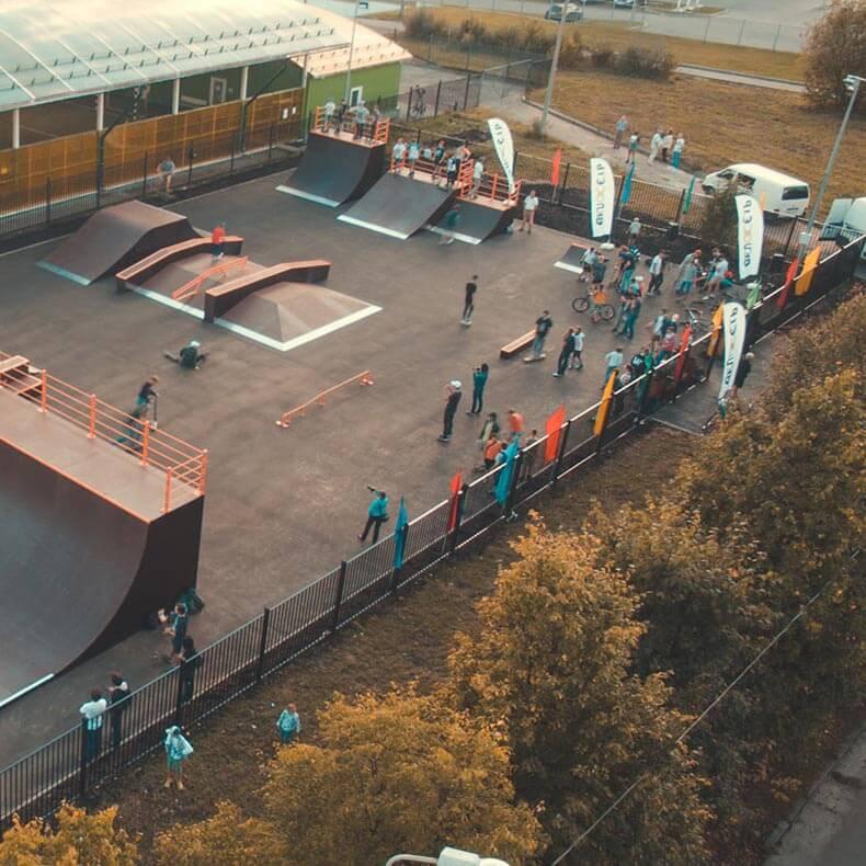 Скейт парки для проектных бюро - FK-ramps