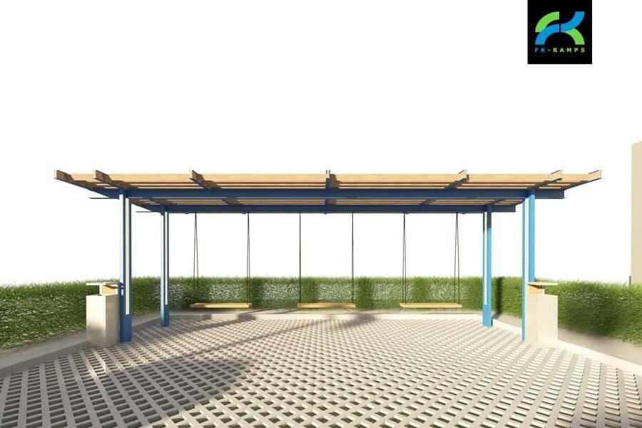 Разнообразные общестроительные работы при строительстве скейт парка - FK-ramps