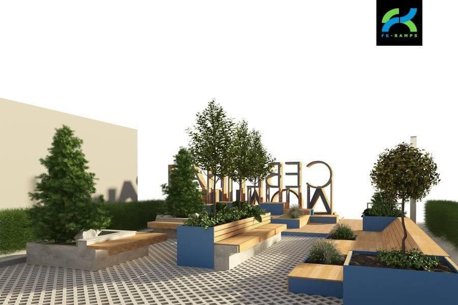 Проводим сопутствующие работы при создании скейт парка -  FK-ramps