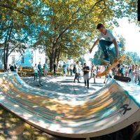 Мини рампа для скейтборда от FK-ramps