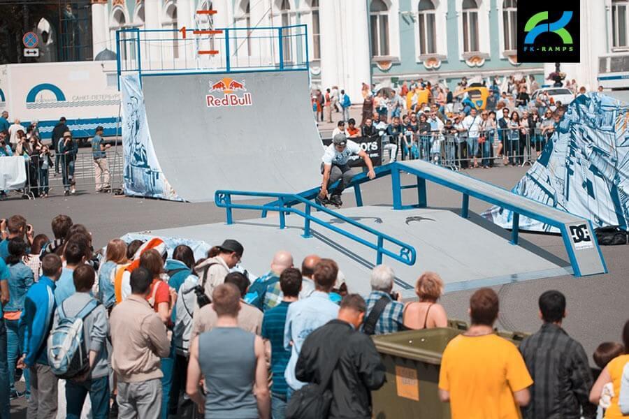 Аренда скейт парка от FK-ramps