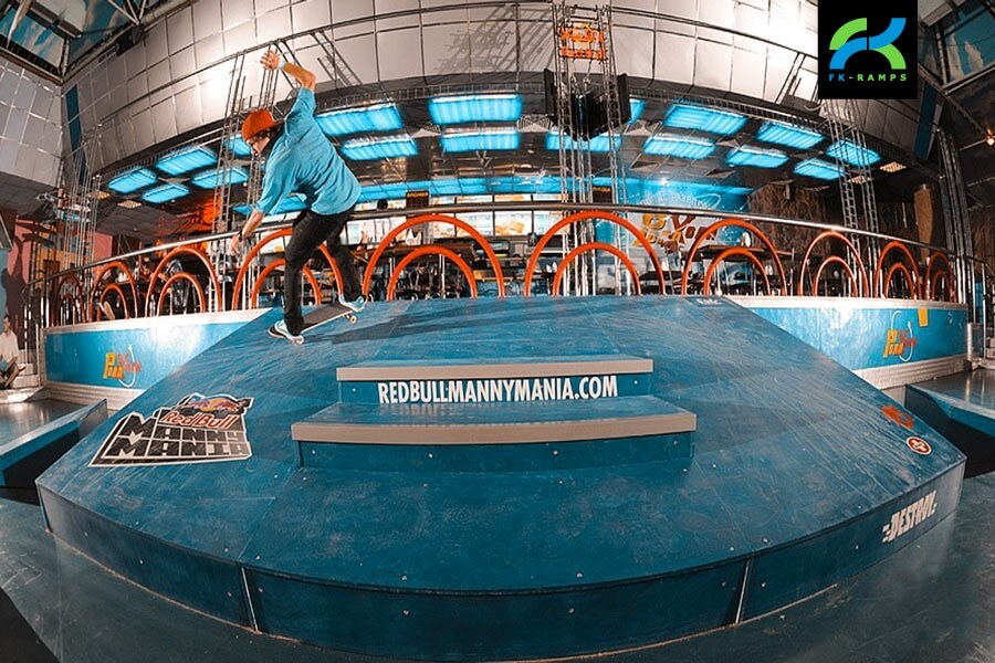 Аренда оборудования для скейт парка - FK-ramps