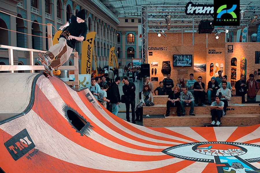 Предоставляем аренду скейт парка - FK-ramps