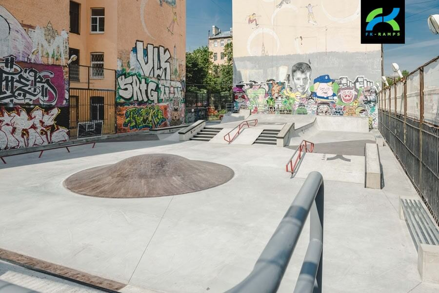 Общестроительные и сопутствующие работы, требуемые для создания скейт парка под ключ -  FK-ramps