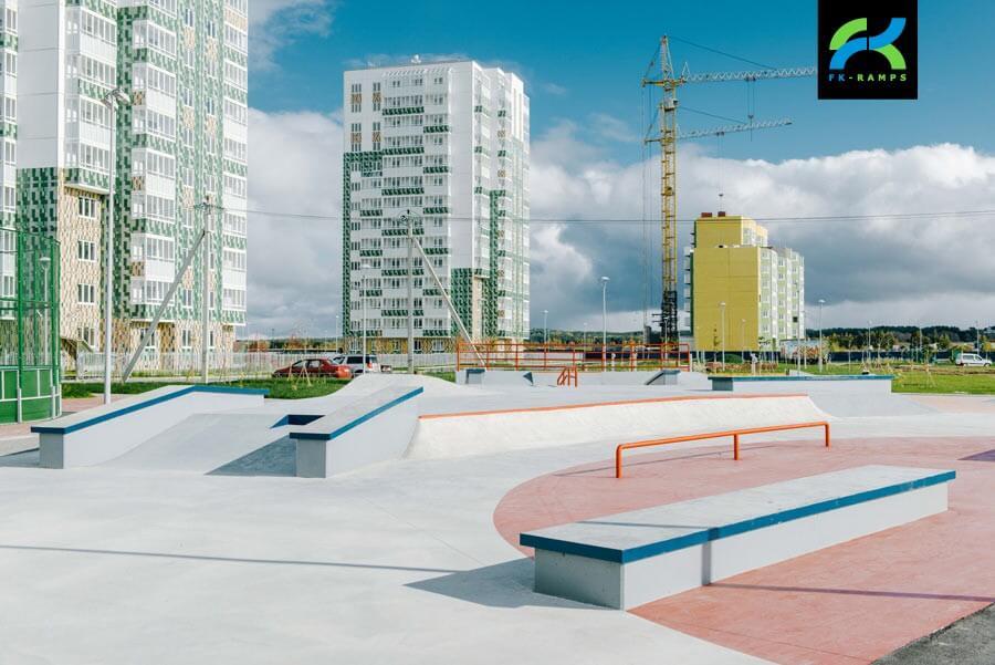 Строительство скейт парка - дело профессионалов FK-ramps