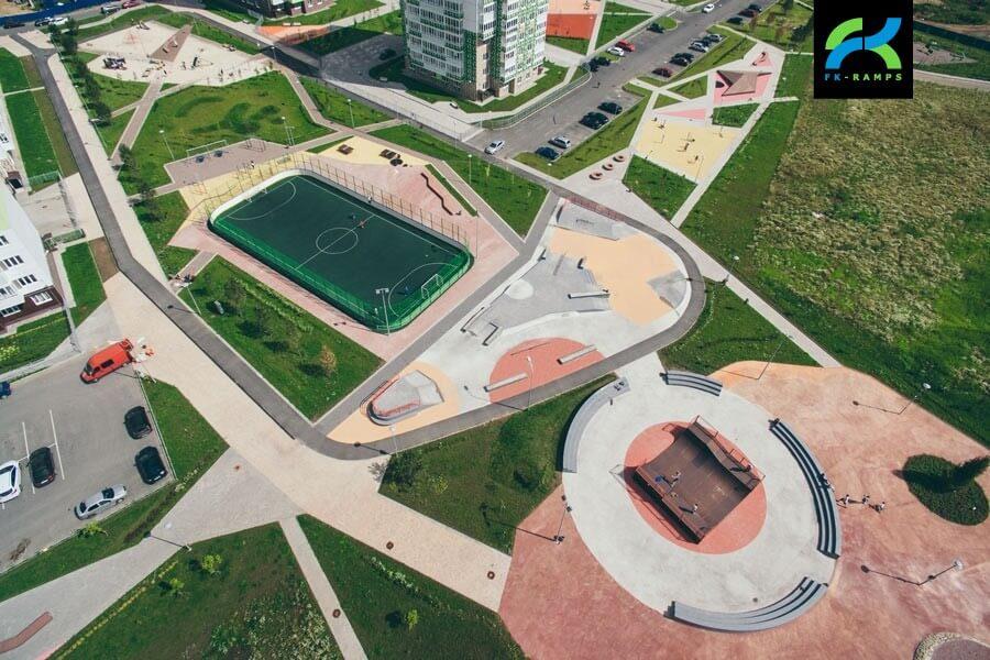 Строительство скейт парков по всей России и СНГ - FK-ramps