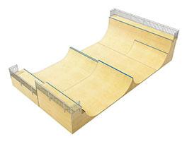 Каталог оборудования: рампы для скейта от FK-ramps