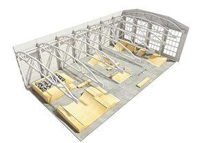 Каталог оборудования: крытые скейт парки от FK-ramps