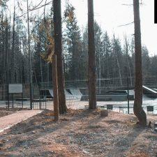 Скейт парк в Сертолово от FK-ramps