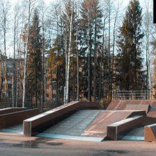 Скейт парк в Сертолово, Ленинградская область от FK-ramps