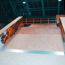 Крытый скейт парк Жесть в СПб от FK-ramps