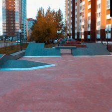 Скейт парк в Корабельном сквере - FK-ramps