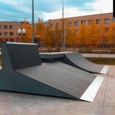 Скейт парк в Корабельном сквере от FK-ramps