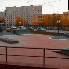 Скейт парк в Корабельном сквере, Тюмень от FK-ramps