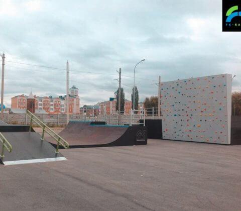Скейт парк в Ельце, Липецкая область - FK-ramps