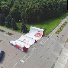 Фото рампы в Парке Победы (Москва) - FK-ramps