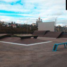 Скейт парк в Ельце, Липецкая область от FK-ramps