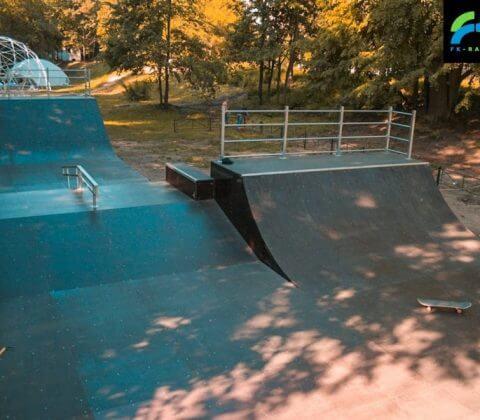 Скейт парк в Выксе, Нижегородская область - FK-ramps