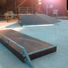 Скейт парк в Глазове (ул. Парковая) от FK-ramps