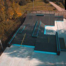 Скейт парк в Измайловском парке, Москва - FK-ramps