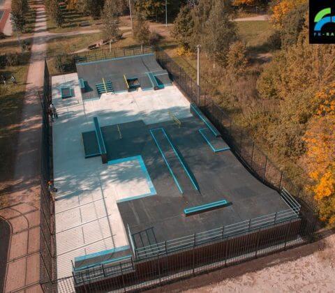 Скейт парк в Измайловском парке, Москва от FK-ramps