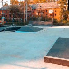 Фото: скейт парк в Глазове - FK-ramps