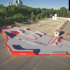 Скейт плаза МТС в Санкт-Петербурге от FK-ramps