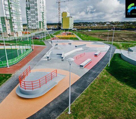 Скейт парк в Янино, Санкт-Петербург - FK-ramps