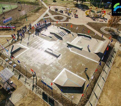 Скейт парк в Аннино, Ленинградская область - FK-ramps