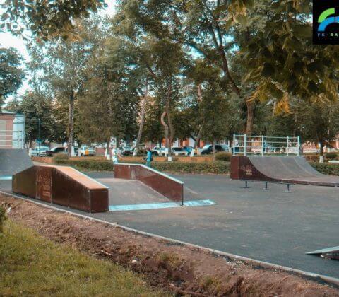 Скейт парк в Лабинске, Краснодарский край - FK-ramps