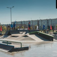 Скейт парк в Аннино от FK-ramps
