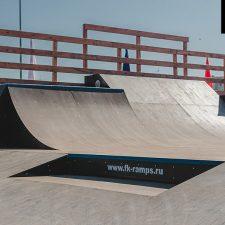 Скейт парк в Аннино от FK-ramps в Ленинградской области