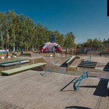 Деревянный скейт парк в Аннино от FK-ramps