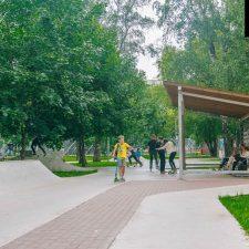 Скейт парк в Перово от FK-ramps