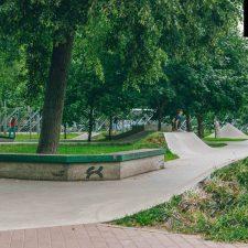 Бетонный скейт парк в Перово - FK-ramps