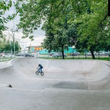Скейт парк в Перово, Москва. Скейт площадка Ferma (ПКиО «Перовский») - FK-ramps