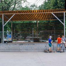 Скейт парк в Перово, Москва - FK-ramps