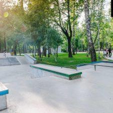 Скейт парк в Лианозовскомпарке в Москве от FK-ramps