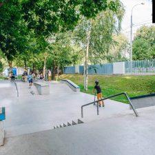 Скейт парк в Лианозовскомпарке, Москва - FK-ramps