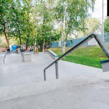 Скейт парк в Лианозовском парке от FK-ramps